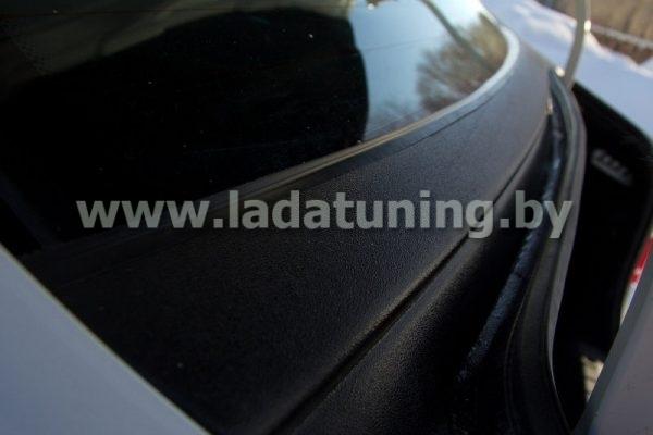 Накладка в проём заднего стекла (Жабо) LADA Vesta