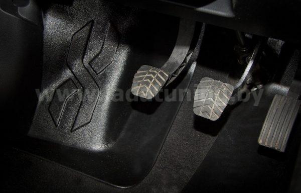 Накладка на ковролин водительская (1шт.) LADA Vesta Sedan (Лада Веста Cедан) с 2016 г.в., NISSAN Almera после 2012 г.в.