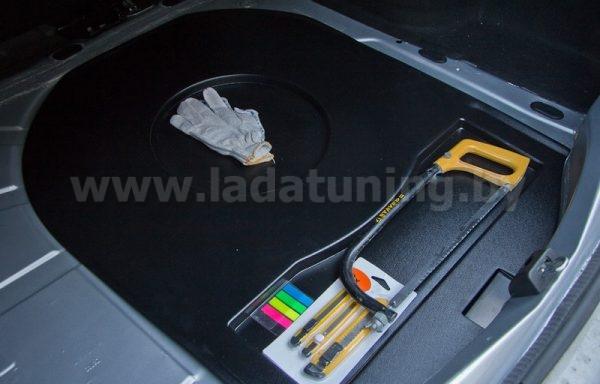 Органайзер Верхний в нишу запасного колеса для Renault Logan 2 (Рено Логан) c 2014 г.в.