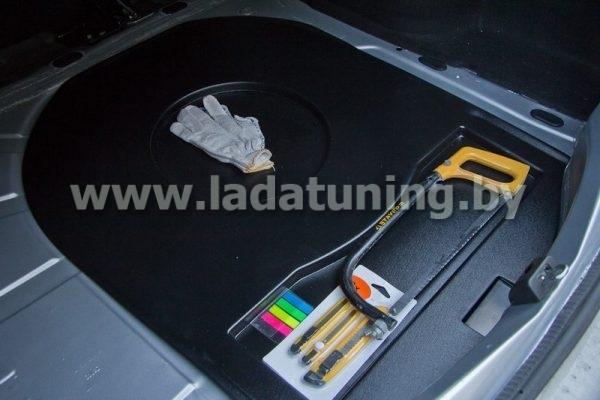 Органайзер верхний в нишу запасного колеса Renault Logan