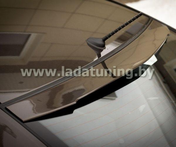 Спойлер-лип на заднее стекло (козырек) для KIA Rio Sedan