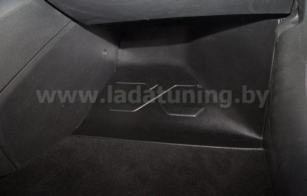 Накладка на ковролин пассажирская (1шт.) LADA Vesta Sedan (Лада Веста Cедан) с 2016 г.в.